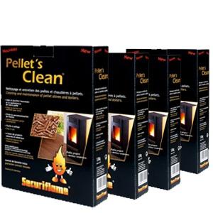 Καθαριστικό σόμπας 4 Pellets Clean Προσφορά Pack 16