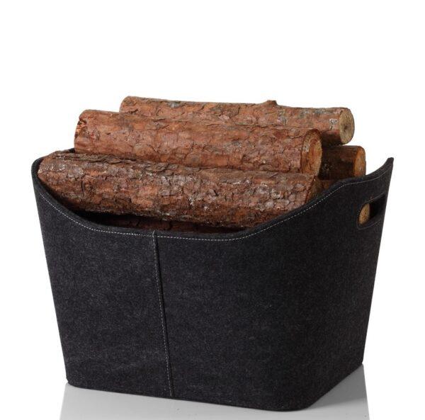 2a3da202a2 Γκρι felt καλάθι για ξύλα – e-tzaki.gr