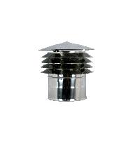 Καπέλο Αντιανεμική Απόληξη (για καμινάδες διπλού τοιχώματος)