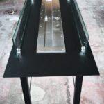 ΤΒ59 Τζάκι βιοαιθανόλης 2,5 μέτρα ειδική κατασκευή με πυράντοχα τζάμια e-tzaki.gr